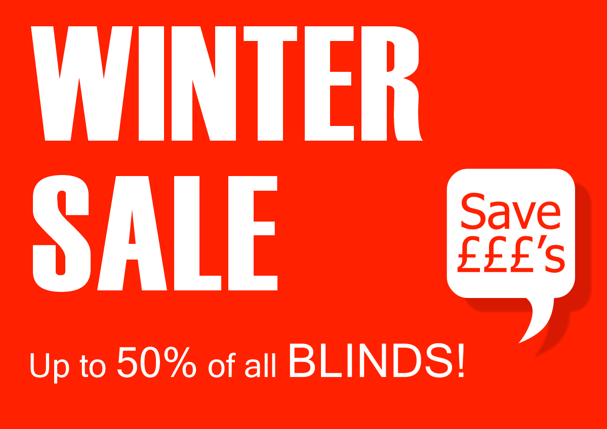 Blinds Sale. Bargain Blinds Winter Blinds Sale.  Roller blinds Vertical blinds Faux wood and wooden blinds Blackout blinds Free home visit and select from a wide range of colours  and fabrics  Up to 50% Off Free fitting Over 20 years local service.
