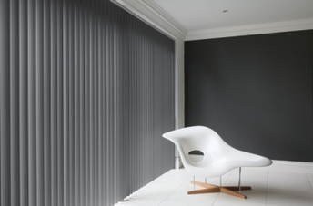 Patio Door Vertical Blinds. Patio door vertical window blinds supplied and fitted by Bargain Blinds Devon. Bargain blinds Devon supply made to measure blinds in and around the Torbay area of Devon. These areas include Torquay, Paignton, Brixham, Teignmouth and Newton Abbot.